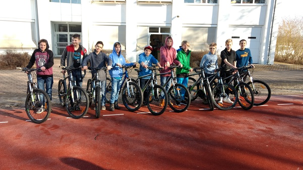 Don Bosco Schule Stappenbach - Bikepool